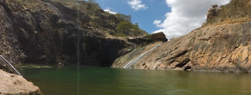 Ratsutame Moore River jõesängis ja Serpentine Falls rahvuspark