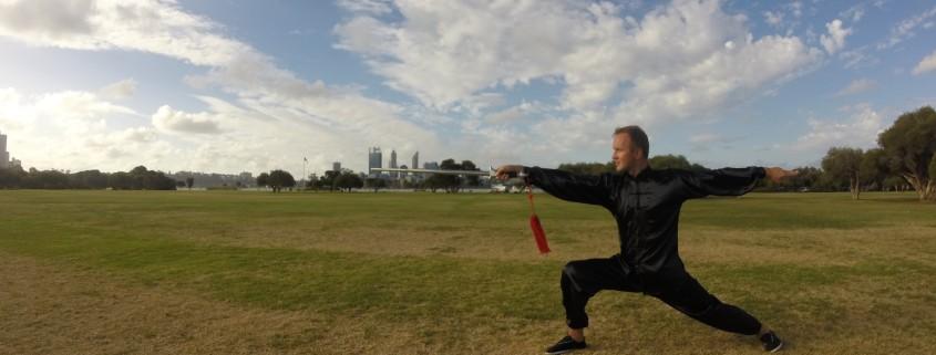 Taiji Sword Form Jian 42