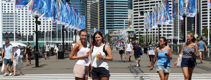 Sydney, Austraalia. Sünnipäev suurlinnas.