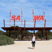 Perth Melbourne road trip kolmas päev. Caiguna ja Yalata, läbi Nullarbor tasandiku.