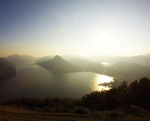 Como Lake, Lugano Lake, Itaalia, Šveits