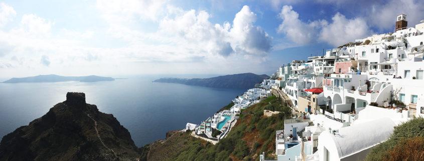 Kreeka Santorini saar reisiblogi teiselpoolmaakera