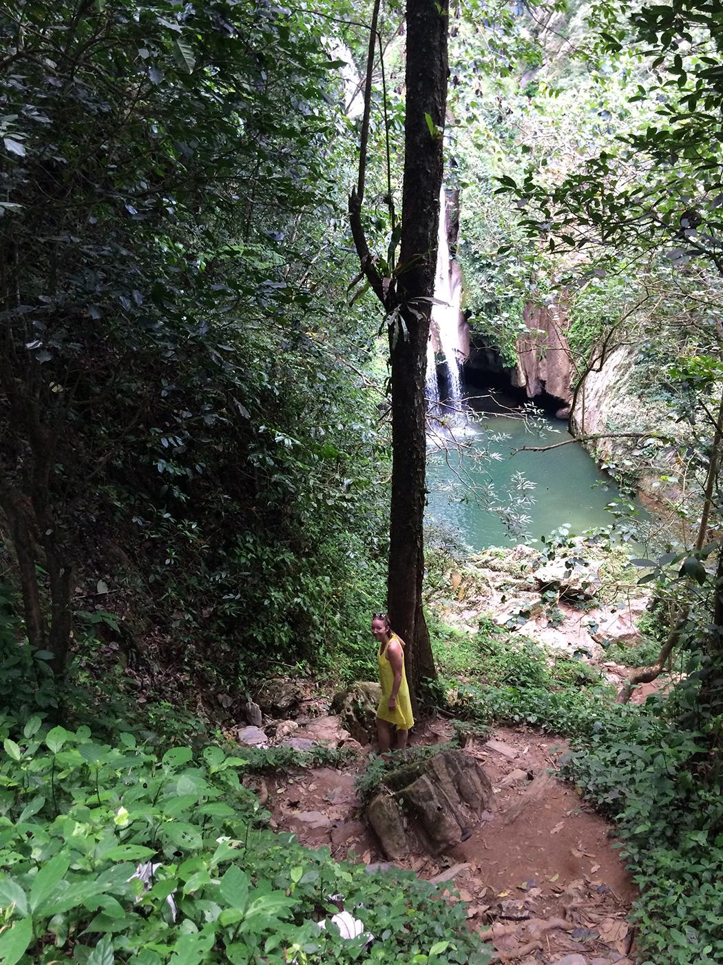 Vegas Grande Waterfall Cuba Trinidad - Teiselpoolmaakera reisiblogi Kuuba Trinidad