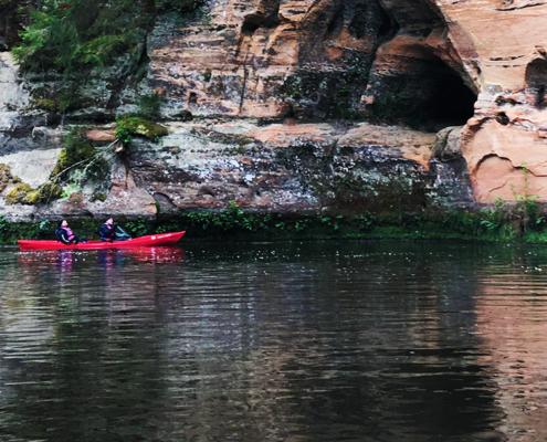 """2 päeva ja 40 km kajakiga Brasla jõel matkaklubiga """"Pürg"""""""